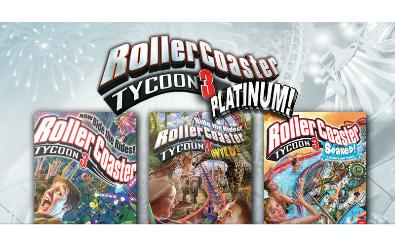 Expansion Packs - Roller Coaster Tycoon 3